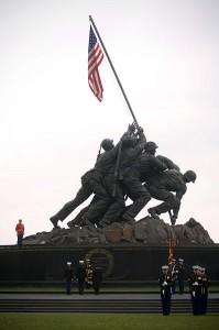 US Marine Corps Memorial [Public domain]