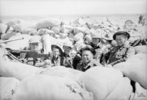Aussies near Tobruk 1941[Public domain, Australian War Memorial]