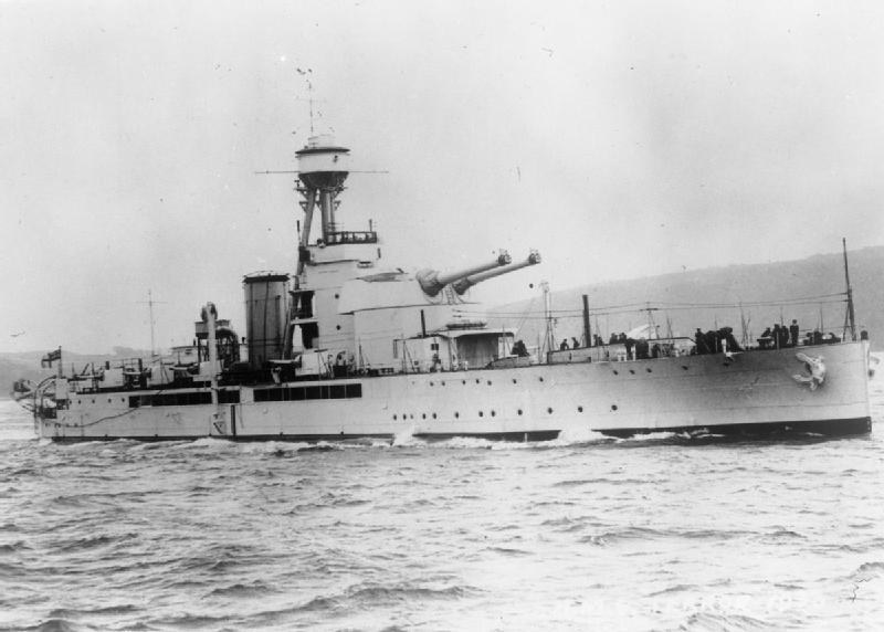 Royal Navy monitor, HMS Terror [Public domain, wikimedia]