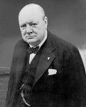 Winston Churchill during WWII [Public domain, wikimedia]