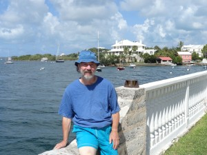 Jeff Williams at the Hamilton Princess in Bermuda, site of WWII censorship and code breaking.