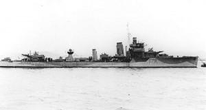 Destroyer HMS Wolverine 1939 [Public domain, wikimedia]