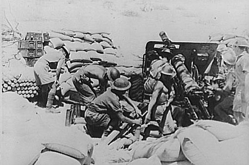India troops in action during the battle for Keren, Eritrea, 1941 [Public domain, wikimedia]