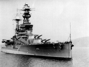Battleship HMS Royal Oak [Public domain, wikimedia]