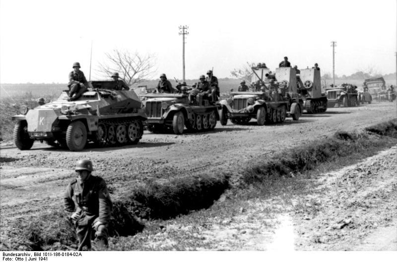 Operation Barbarossa, the German invasion of the Soviet Union, June 1941