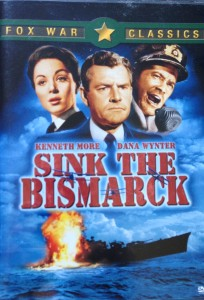 Sink the Bismarck --- movie DVD cover [Photograph by Edith-Mary Smith]