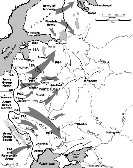 Operation Barbarossa [Public domain, wiki]
