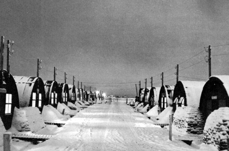 The US Army's Camp Pershing, Iceland, WWII [Public domain, wiki]