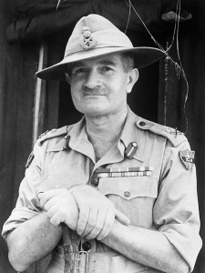 Lieutenant-General William Slim, Commander of the British Fourteenth Army, Burma [Public domain, wiki]