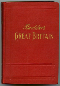 Baedeker's 1937 guide to Great Britain [Creative Commons Share Alike 2.5 Generic Author: User:Ww2censor]