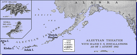 Adak and other Aleutian islands [Public domain, wiki]