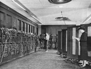 The ENIAC, at the University of Pennsylvania [Public domain]