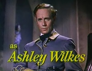 Leslie Howard as Ashley Wilkes in 'Gone with the Wind' [Public domain]