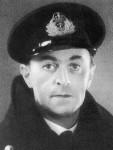 Lieutenant-commander Ewan Montagu, British Naval Intelligence, 1943 [Public domain]