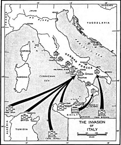 Invasion of Italy, 3 September 1943 [Public domain]