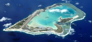 Wake Island in the western Pacific [Public domain]