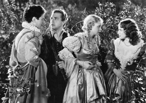 A scene from Max Reinhardt's 1935 movie, A Midsummer Night's Dream [Public domain]