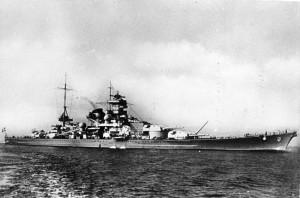 The Scharnhorst [Bundesarchiv, DVM 10 Bild-23-63-07/ CC-BY-SA 3.0]