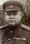 Soviet commander of the 1st Ukrainian Front, Nikolai F. Vatutin, January 1944 [Public domain]