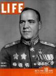Soviet general Georgy Konstantinovich Zhukov, Life magazine, 1944 [Public domain]