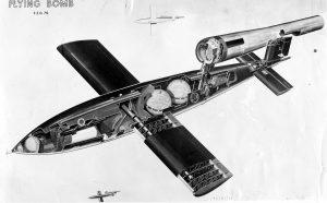 Cutaway of V-1 flying bomb [Public domain]