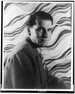 Laurence Olivier, photo by Carl Van Vechten, 1939 [Public domain]