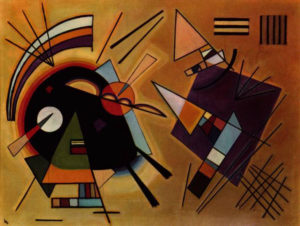 'Black & Violet' by Wassily Kandinsky, 1923 [Public domain]