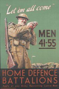 Recruitment poster for Britain's Home Guard [Public domain]